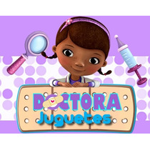 Kit Imprimible Doctora Juguetes Diseñá Tarjetas Candy Bar