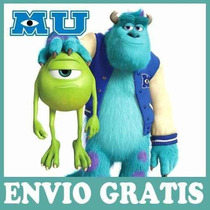 Kit Imprimible Monster University. Candy Bar