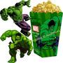 Kit Imprimible Increible Hulk Candy Bar Invitaciones 2x1