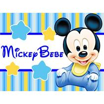 Kit Imprimible Mickey Bebe Candy Bar Golosinas Y Mas