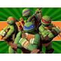 Kit Imprimible Tortugas Ninjas Candy Bar Golosinas Y Mas