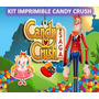 Kit Imprimible Candy Crush