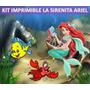 Kit Imprimible La Sirenita Ariel