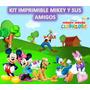 Kit Imprimible Mikey Y Sus Amigos