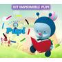 Kit Imprimible Pupi