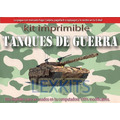 Kit Imprimible Tanques De Guerra Candy Bar Cotillon Imprimi