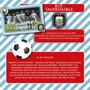 Kit Imprimible Equipo Futbol Seleccion Argentina Cumpleaños