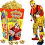 Kit Imprimible Piñon Fijo Payaso Candy Bar Y Cotillon 2x1
