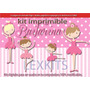Kit Imprimible Bailarina Danza Clasica Souvenirs Cumples