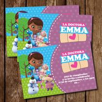 Tarjeta De Invitacion Imprimible Doctora Juguetes