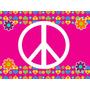 Kit Imprimible Simbolo De La Paz Diseñá Tarjetas Cumples