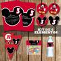Kit Imprimible Mickey Decoración Fiesta Varon