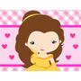 Kit Imprimible Princesa Bella Y La Bestia Baby Candy Bar