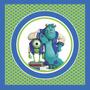 Kit Imprimible Monsters University, Decoracion, Candy Bar