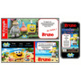 Kit Imprimible Bob Esponja 3d: Candy, Deco, Torta