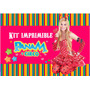 Kit Imprimible Panam Y Circo Candy Bar Diseño Unico!