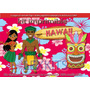 Kit Imprimible Hawaiano Hawaii Playa Caribe Verano Candy Bar