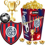 Kit Imprimible San Lorenzo Candy Bar Golosinas Cotillon 2x1