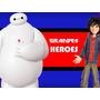 Kit Imprimible 6 Grandes Heroes Diseñá Tarjetas Cumples