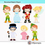 Kit Imprimible Peter Pan Imagenes Clipart