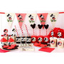 Kit Candy Bar Mickey Mouse Vintage - Imprimible Y Editable