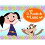 Kit Imprimible El Mundo De Luna Candy Bar Golosinas Y Mas