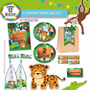 Kit Imprimible Cumpleaños Candy Bar Selva (animales)
