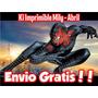 Super Mega Kit Imprimible El Hombre Araña Spiderman 2 Tarjer