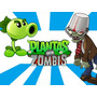 Kit Imprimible 2x1 Plantas Vs Zombis Invitaciones Candy Coti