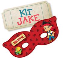 Super Kit Imprimible Jake Y Los Piratas - Editable