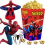 Kit Imprimible Hombre Araña Candy Bar Spiderman Cotillon 2x1