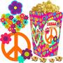 Kit Imprimible Simbolo De La Paz Candy Bar Y Cotillon 2x1