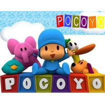 Kit Imprimible Pocoyo Personalizadas Cumples Modificable 2x1