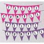 Banderines Lunares Imprimibles Cumpleaños