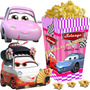 Kit Imprimible Cars Nenas Candy Bar Golosinas Cotillon 2x1