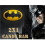 Kit Imprimible Batman Candy Bar Golosinas Editable
