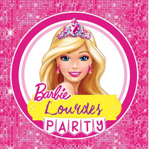 Kit Imprimible Barbie Candy Bar Invitaciones Deco