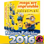 Kit Imprimible Minions Villano Favorito - Editable + Bonus