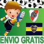 Kit Imprimible Futbol Candy Bar River Boca Todos Los Equipos
