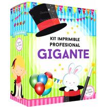Kit Imprimible Profesional Gigante Invitaciones Cajas Candy