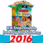 Kit Imprimible Jake Y Los Piratas De Nunca Jamas, Fiesta!