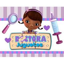 Kit Imprimible De La Doctora Juguetes Diseñá Tarjetas
