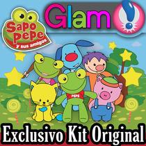 Kit Imprimible Sapo Pepe Y Sus Amigos. Candy Bar Y Cotillón!