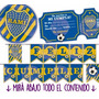 Kit Imprimible Boca Juniors Cumple Candy Bar Personalizado
