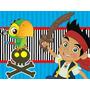 Kit Imprimible Jake Y Los Piratas Candy Bar Tarjetas Y Mas 1