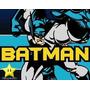 2x1 Kit Imprimible Batman Diseñá Tarjetas, Cumples Y Mas