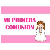 Kit Imprimible Mi Primera Comunion - Nena