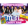 Kit Imprimible Miss Xv Candy Bar - Etiquetas Golosinas