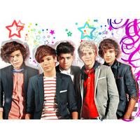 Kit Imprimible One Direction Cotillon + Candy Bar