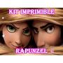 Kit Imprimible Enredados Rapunzel Editable